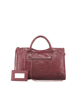 Balenciaga Classic City Bag, Cassis/Bordeaux