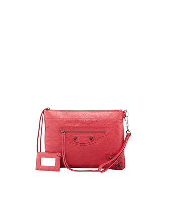 Classic Handle Bag, Rose Thulian