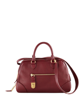 Venetia Satchel Bag, Small
