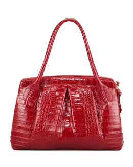 Nancy Gonzalez Crocodile Satchel Bag