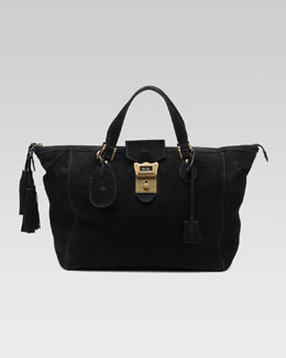 Gucci Goldmark Top-Handle Boston Bag, Medium