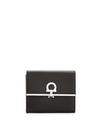 Icona French Wallet, Black