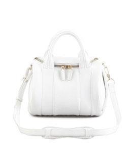 Alexander Wang Rockie Small Crossbody Satchel, Peroxide/Yellow Golden