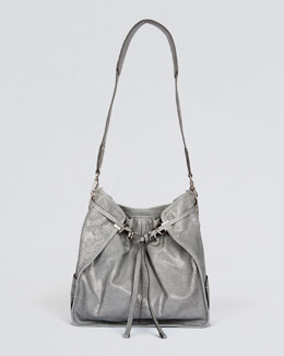 Kooba Brooke Shoulder Bag, Blue/Gray