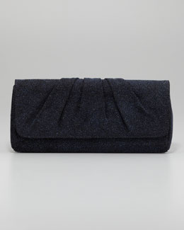 Lauren Merkin Caroline Crystallized Clutch Bag, Cobalt