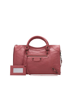 Balenciaga Classic City Bag, Rose Bombon