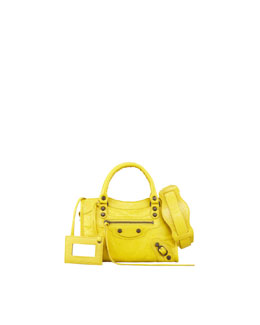 Balenciaga Classic Mini City Bag, Curry