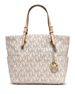 MICHAEL Michael Kors  Jet Set Logo Item Tote Bag