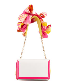 Christian Louboutin Artemis Flower Shoulder Bag, Rose