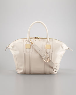 Rachel Zoe Morrison Medium Tote Bag, Light Beige