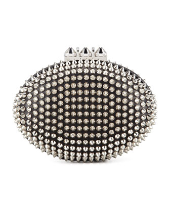 Spiked Clutch Bag