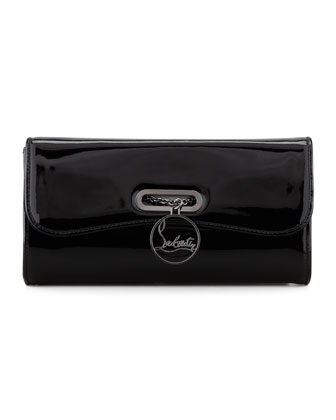 Riviera Patent Clutch Bag