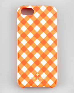 kate spade new york gingham resin iPhone 5 case