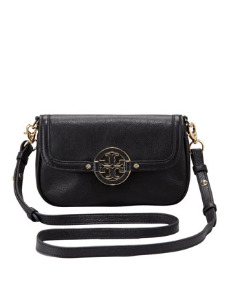 Amanda Classic Crossbody Bag, Black