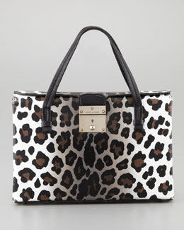 Marc Jacobs The Carnaby Tote Bag, Leopard