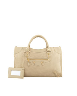 Balenciaga Giant 12 Golden City Bag, Tan