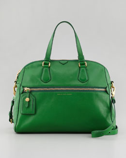 MARC by Marc Jacobs Globetrotter Calamity Rei Satchel Bag, Green