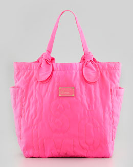 MARC by Marc Jacobs Pretty Nylon Tate Medium Tote Bag, Pink