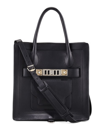 PS11 Small Tote Bag, Black
