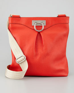 Salvatore Ferragamo Graziella Crossbody Bag, Coral