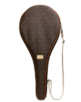 MICHAEL Michael Kors  Jet Set Tennis Racket Case