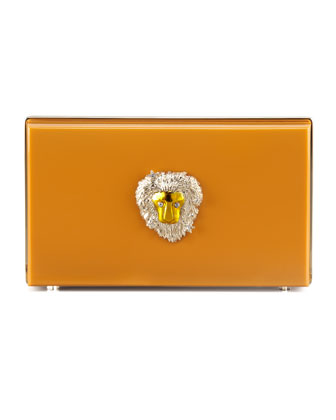Pandora Leo Zodiac Clutch, Orange