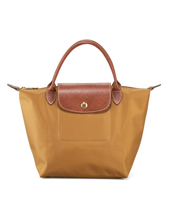 Le Pliage Small Handbag, Camel