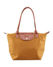 Le Pliage Small Shoulder Tote Bag, Camel