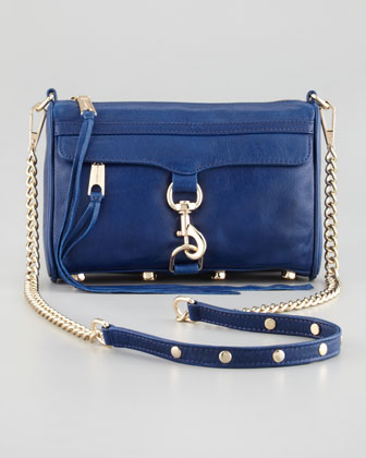 Mini MAC Core Crossbody Bag, Navy