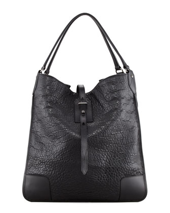 Nottingham 38 Hobo Bag, Black