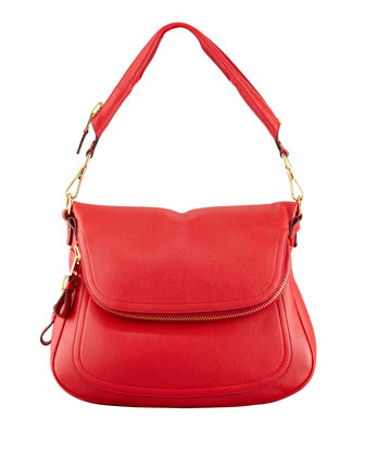 Jennifer Large Leather Shoulder Bag