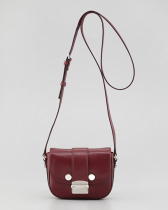 Daphne Mini Crossbody Bag, Bordeaux