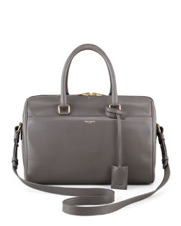 Saint Laurent Small Duffel Saint Laurent Bag, Gray