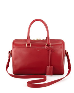 Saint Laurent Small Duffel Saint Laurent Bag, Red