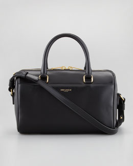 Saint Laurent Classic Duffel 3 Bag, Black