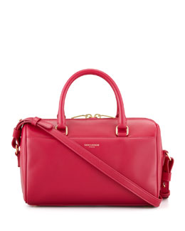Saint Laurent Classic Duffel 3 Bag, Pink