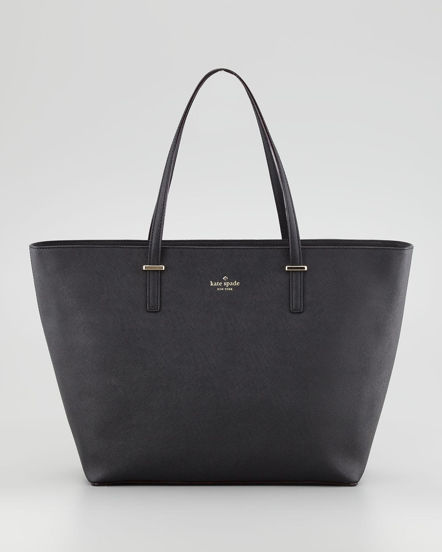 cedar street harmony tote bag, black   kate spade new york