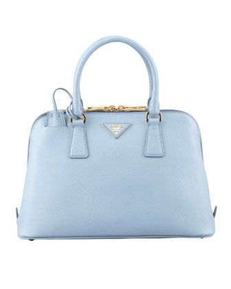 Saffiano Small Promenade Crossbody Bag, Blue