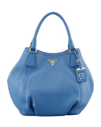 Daino Medium Shoulder Tote Bag, Blue