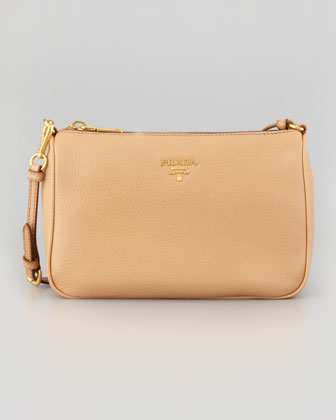 Daino Small Shoulder Bag, Beige