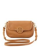 Amanda Mini Messenger Bag, Royal Tan