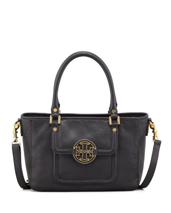 Amanda Mini Satchel Bag, Black