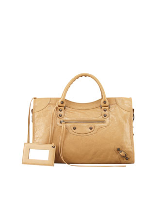 Classic City Bag, Beige