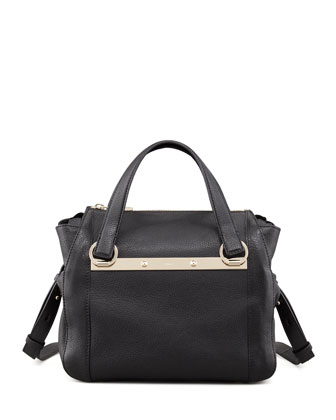 Bridget Mini Shoulder Bag, Black