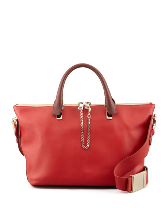 Baylee Medium Shoulder Bag, Red