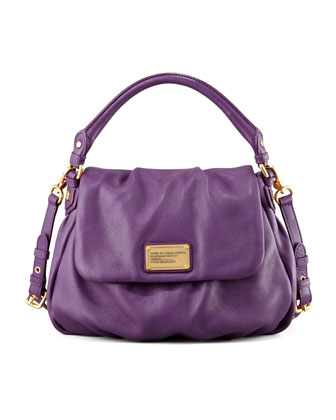 Classic Q Lil Ukita Satchel Bag, Purple