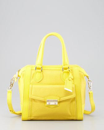 Zoe Structured Satchel Bag, Sunlight