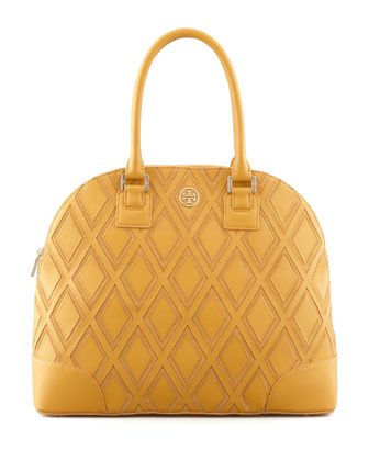 Robinson Patchwork Dome Tote Bag, Yellow