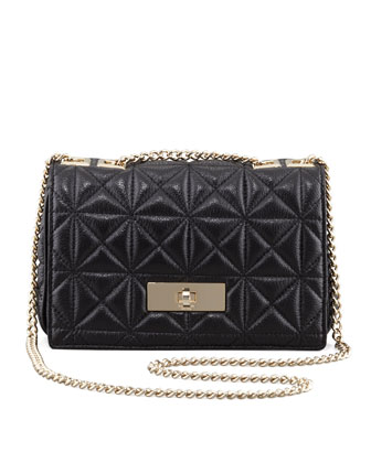 sedgwick place fairlee shoulder bag, black