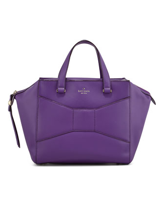 2 park avenue beau shopper tote bag, purple